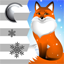 Download Clock Weather Widget Red Fox for Android phone