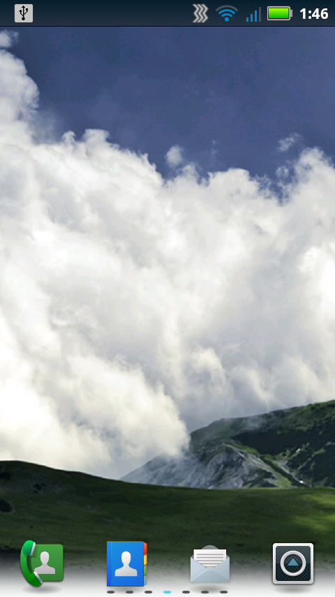 Cloud Watching Live Wallpaper screenshot 2