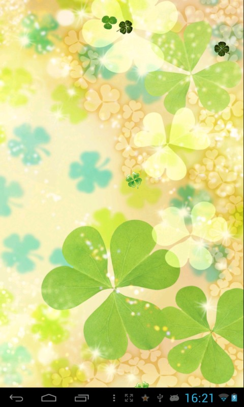 Clover Live Wallpaper Free Android App Android Freeware