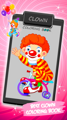 Clown Coloring Book screenshot 1