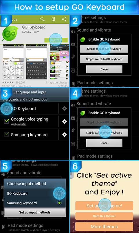 Color Keyboard for Android screenshot 2