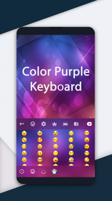 Color Purple Keyboard screenshot 2