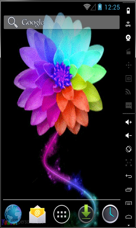 colored flower live wallpaper free apk android app