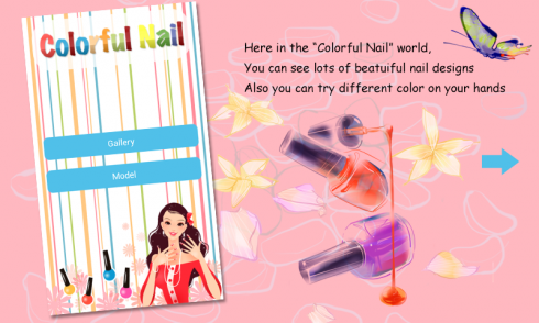 Colorful Nail screenshot 1