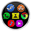 Image of Colorful Nbg Icon Pack