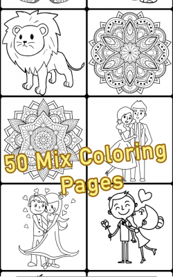 Coloring Book Mix screenshot 2