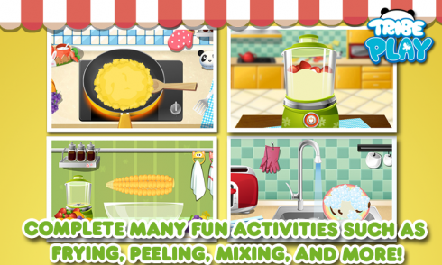 Cooking Game For Kids - Free screenshot 2