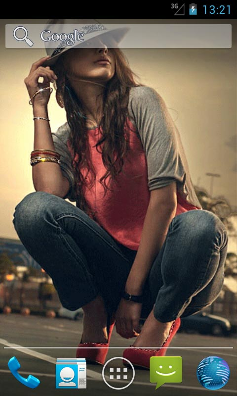 Download Cool Girl In Hat Live Wallpapers Free For Your Android Phone
