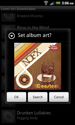 Cover Art Downloader screenshot 1