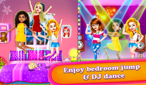Crazy BFF Princess PJ Night Out Party screenshot 1