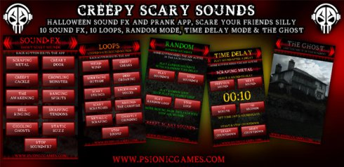 Creepy Scary Sounds for Android - Download
