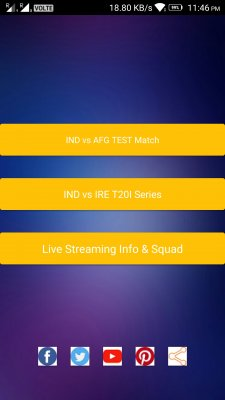 Afghanistan va India test match screenshot 2