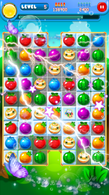 Crush Fruit Paradise screenshot 1