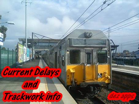 Image of Current Delays and Trackwork info