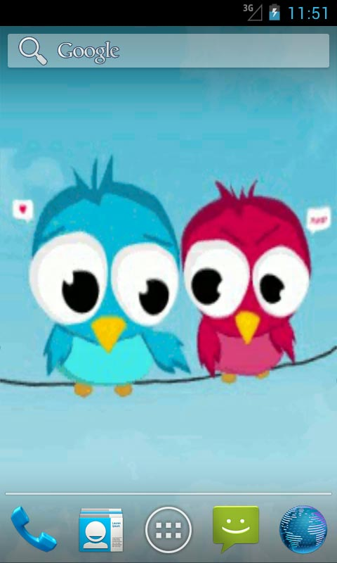 Download Cute Flappy Birds Live Wallpapers