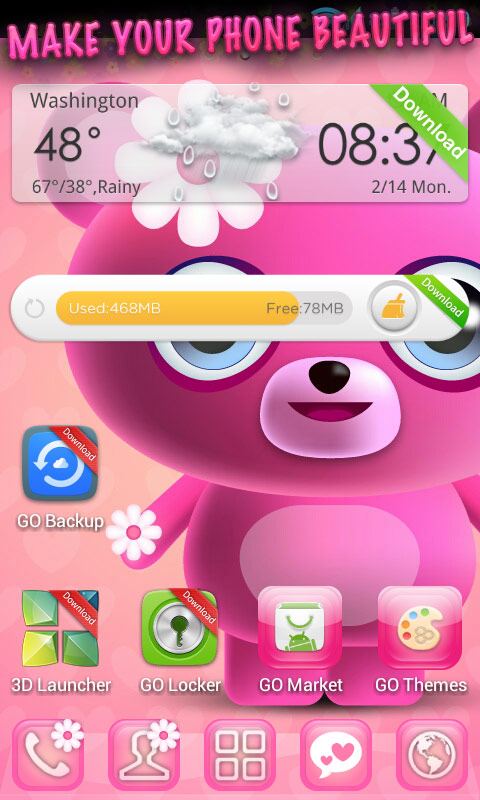 free themes for android mobile download