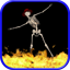 Download Dancing Skeleton I Live Wallpaper for Android phone