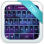 Dark Space Abstract Keyboard