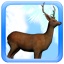 Deer Snow Live Wallpaper