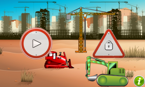 Diggers and Truck for Toddlers screenshot 1