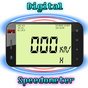 Image of  Digital GPS speedometer