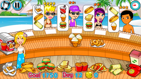 Diner Restaurant Summer screenshot 1