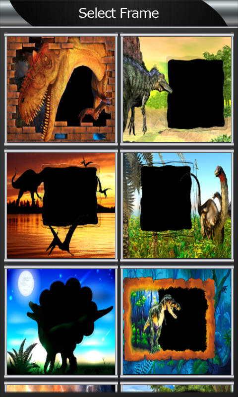 Dinosaur Photo Frames screenshot 2