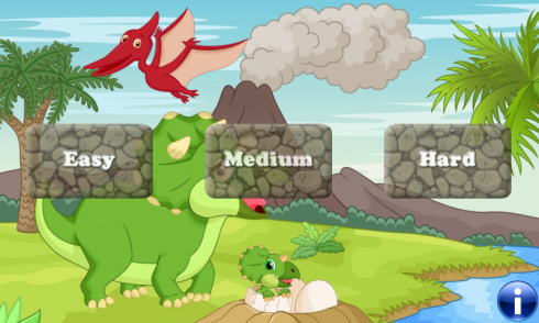 Dinosaurs game for Toddlers screenshot 1