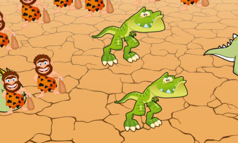 Dinosaurs game for Toddlers screenshot 2