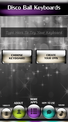 Disco Ball Keyboards screenshot 2