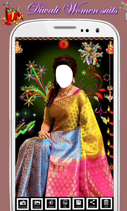Diwali Traditional Saree Suit screenshot 2