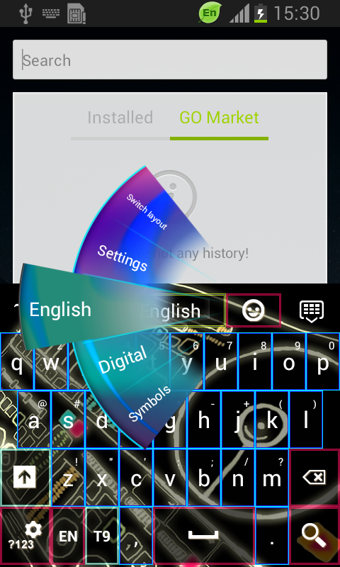 Download Dj Keyboard Theme free for your Android phone