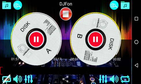 DJFon Music mixer for DJ free for Android - Download