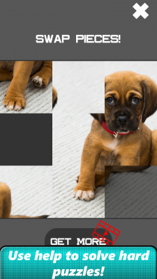 Dog Slide Puzzle screenshot 2