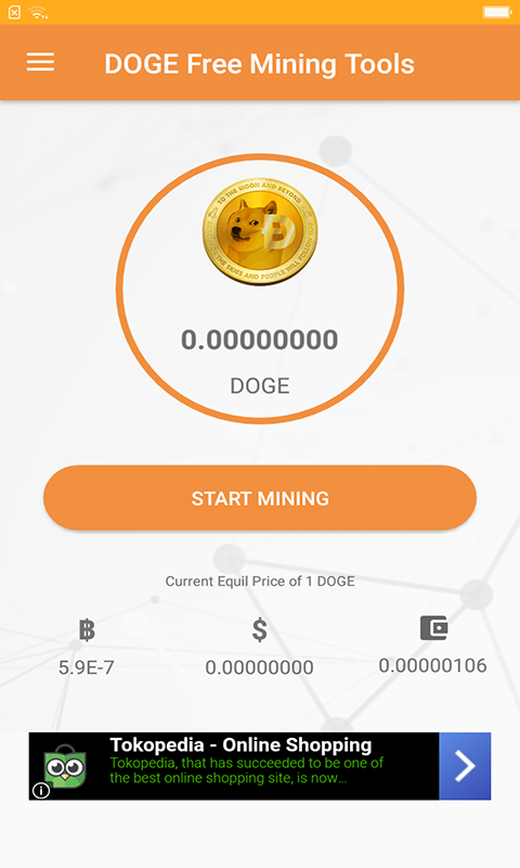Doge Free Miner Bot for Android - Download