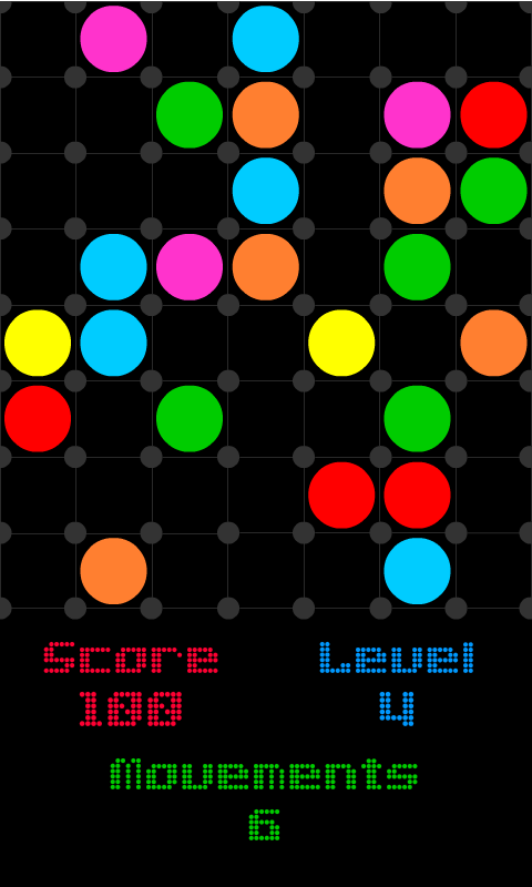 Dots in a Row screenshot 1