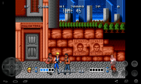 double dragon game download for android mobile