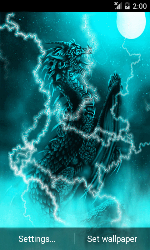 Dragon of light live wallpaper android app free apk by - Free dragonfly wallpaper for android ...