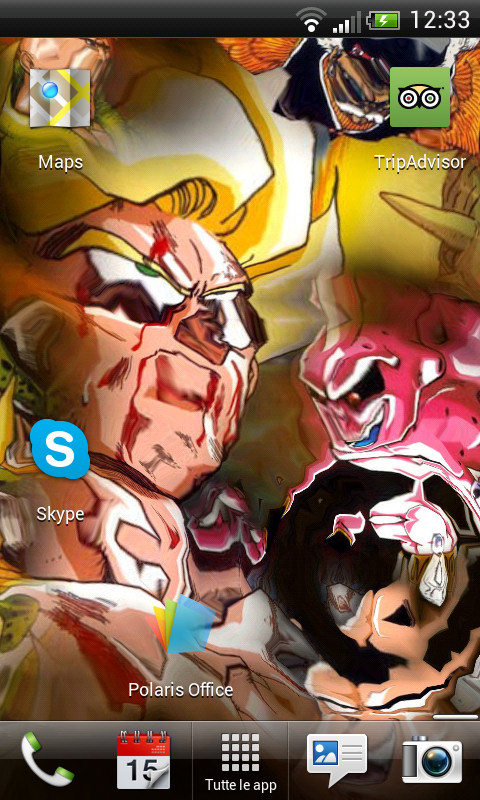 Download DragonBall Goku WaterEffec Lwp free for your Android phone