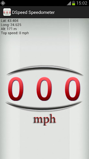 DSpeed Speedometer - MPH screenshot 1