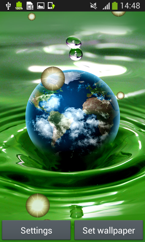 Earth Live Wallpapers Free App Download Android Freeware