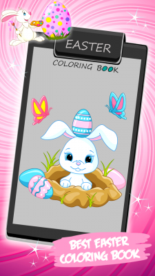 Easter Coloring Book screenshot 1