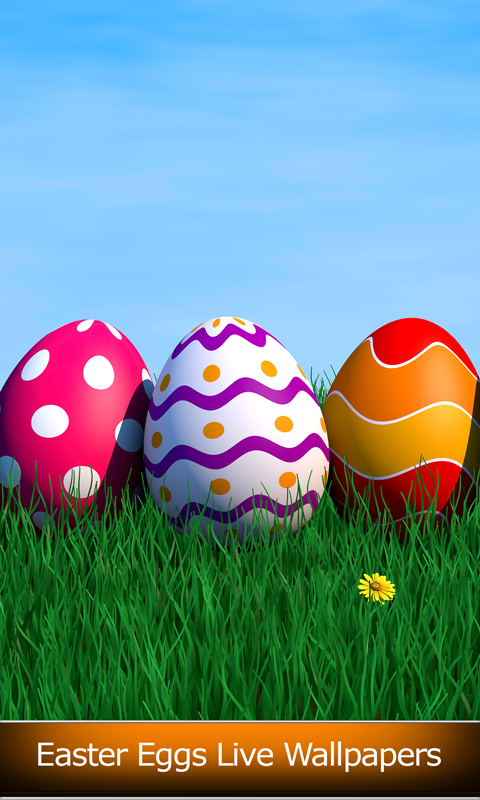 Easter Eggs Live Wallpapers screenshot 1