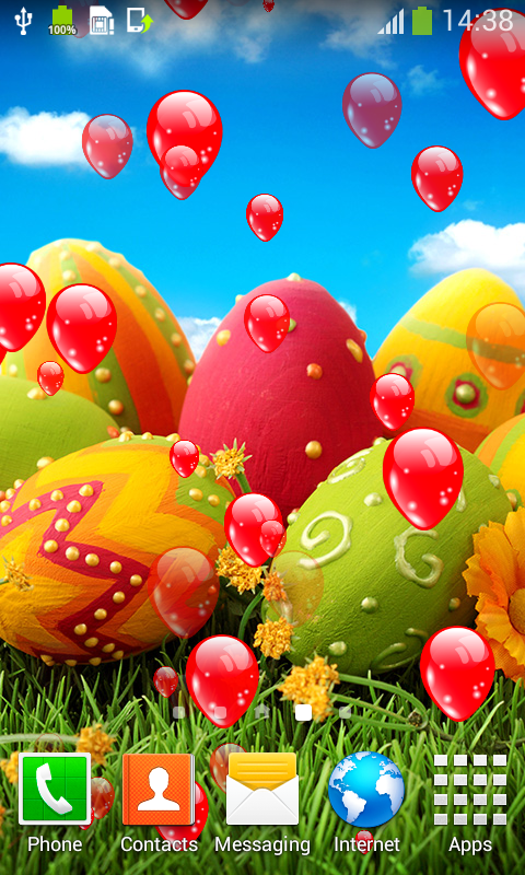 Easter Eggs Live Wallpapers screenshot 2