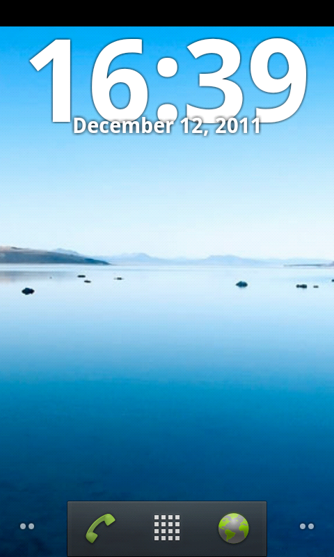 Easy Clock Widget Free screenshot 1