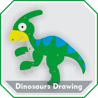 Easy Dinosaurs Drawing Tutorial Step by Step