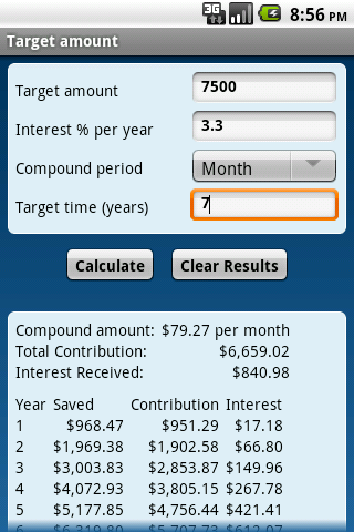 how to clear financial calculator