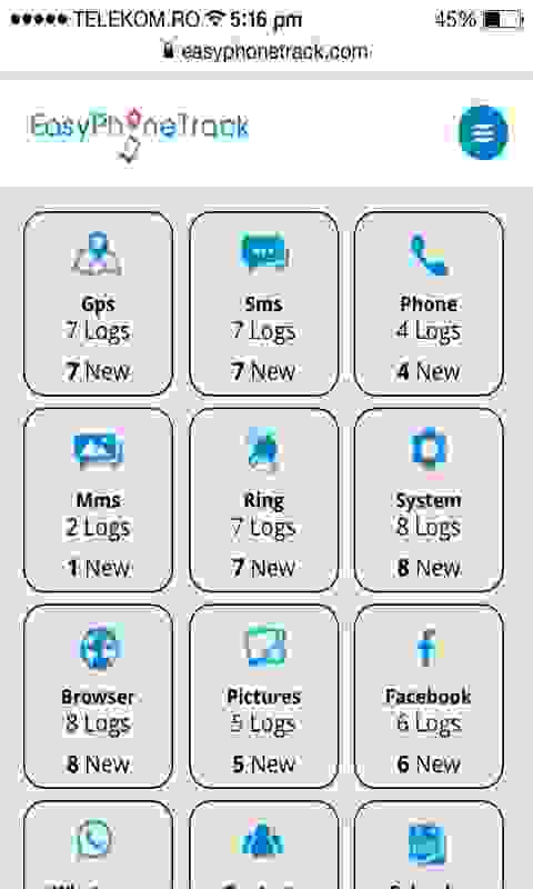 Easy Phone Track - cell phone tracker for Android - Download