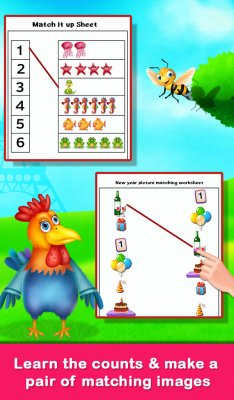 Educational Matching the Objects Memory Game screenshot 2