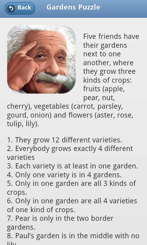 Download Einsteins Riddles app free for your Android phone